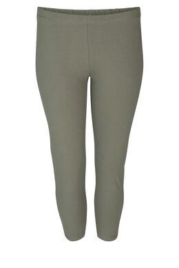 Leggings aus Bio-Baumwolle, Khaki
