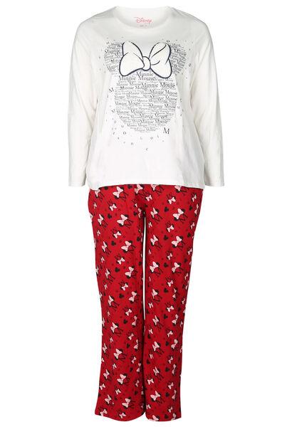 Pyjama mit Minnie-Maus-Print - Rot