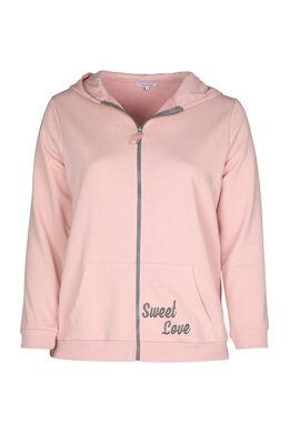 Homewear-Sweater, Rosa