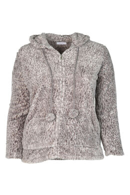 Innensteppjacke, China Grau