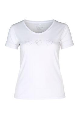 T-Shirt Bio-Baumwolle, weiß