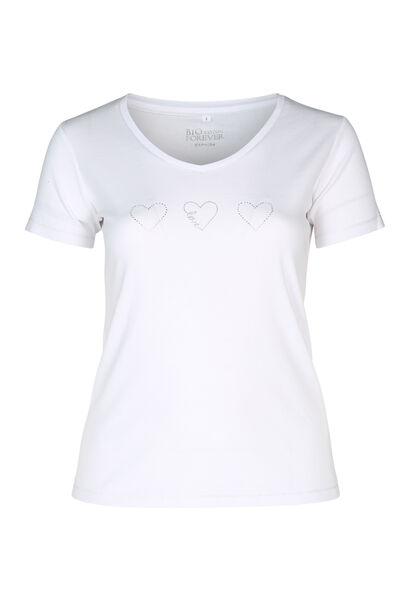 T-Shirt Bio-Baumwolle - weiß