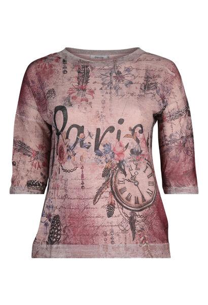 """T-Shirt """"Paris"""" - Alte Rosa"""