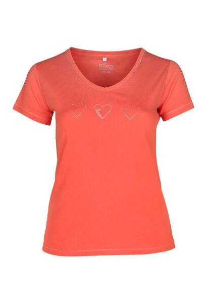 T-Shirt Bio-Baumwolle - Orange