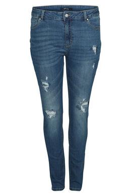 Jeans mit 5 Taschen, Denim