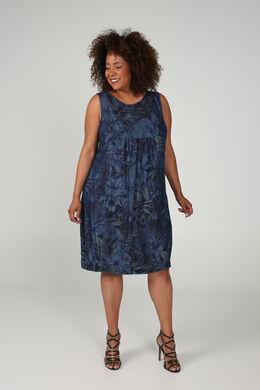 Kleid aus Tencel mit Aufdruck, Denim