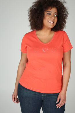 T-Shirt Bio-Baumwolle, Orange