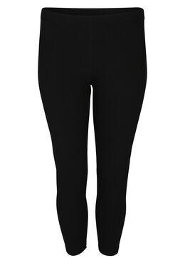 Leggings aus Bio-Baumwolle, Schwarz