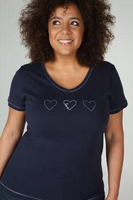 T-Shirt Bio-Baumwolle, Marine
