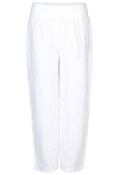 Leinenhose - weiß