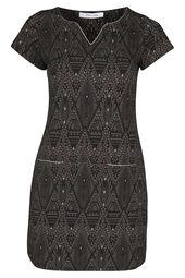 Kleid aus Jacquard-Gewebe