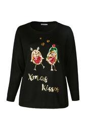 "Weihnachtspullover ""Xmas Kisses"""