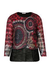 Pullover mit 2-in-1-Effekt