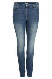 Slim-Fit-Jeans mit Nieten-Details