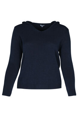 Pullover mit Kapuze, Marine