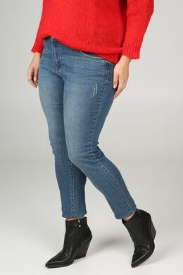 Jeans mit geradem Schnitt, Denim