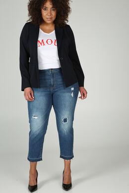 Kurze Jeans, Denim