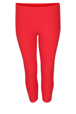 Leggings aus Bio-Baumwolle, Rot
