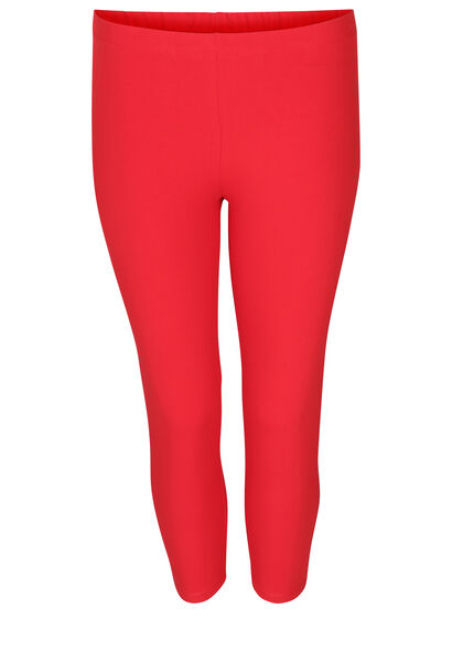 Leggings aus Bio-Baumwolle - Rot