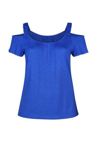 T-Shirt mit elastischen Trägern - Blau Bic
