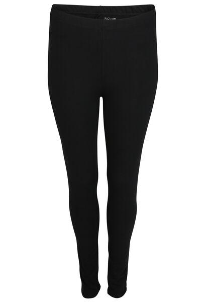 Lange Legging aus Bio-Baumwolle - Schwarz