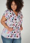 Bedruckte Bluse, Multicolor