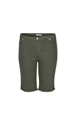 Bermuda-Shorts im 5-Pocket-Stil, Khaki