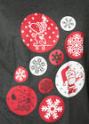 Nachthemd Snoopy Weihnachts-Edition, China Grau