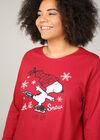 Weihnachts-Pyjama Snoopy, Bordeaux