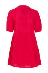 Tunika-Kleid aus Baumwolle
