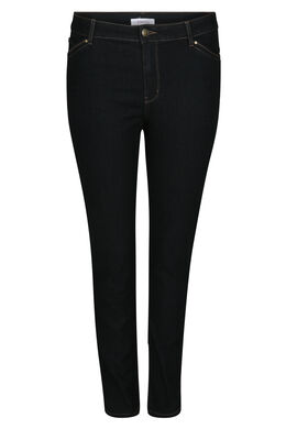 Dunkle Slim-Fit-Jeans, Dark Denim