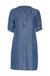 Tunika-Kleid aus Tencel-Jeans