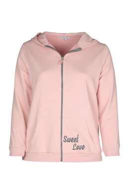 Homewear-Sweater, Rosa