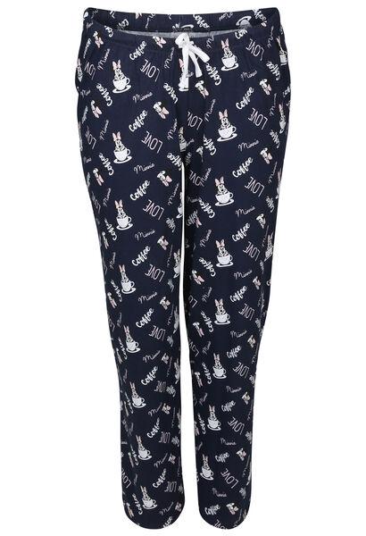 Pyjama-Hose Minnie - Marine