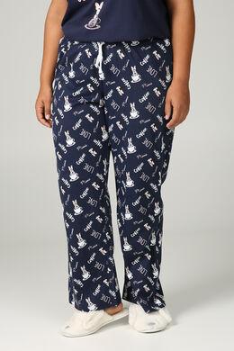 Pyjama-Hose Minnie, Marine