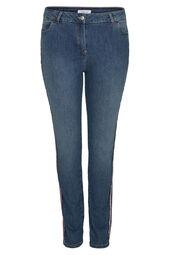 Slim Jeans mit Sportswear-Streifen