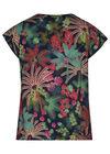 Bluse mit Dschungelaufdruck, Multicolor