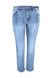 Slim-Fit-Jeans in 7/8-Länge