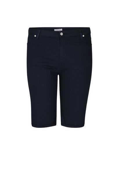 Bermuda-Shorts im 5-Pocket-Stil - Marine