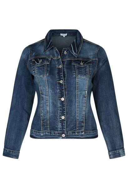 Jeans-Jacke - Denim