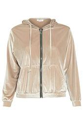 Sportswear-Jacke mit Kapuze