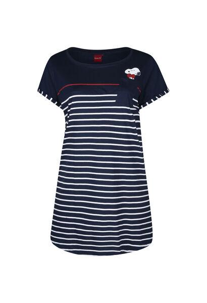 Nachthemd Snoopy - Marine