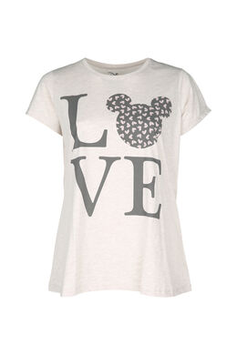 Pyjama-Shirt Love, Beige