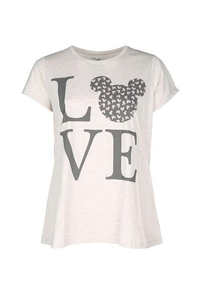 Pyjama-Shirt Love - Beige