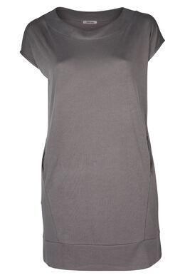 Kleid aus Modal, Mittelgrau