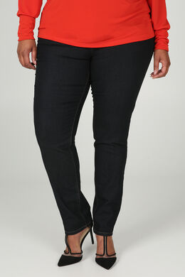 Dunkle Slim-Fit-Jeans, Dark Denim