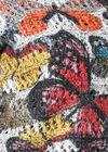 Pullover mit Lagen-Effekt und Schmetterlingsaufdruck, Multicolor