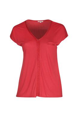T-Shirt aus Viskose, Orange