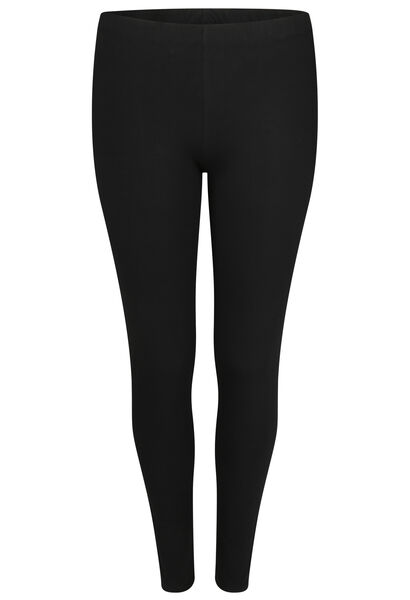 Lange Leggings aus Bio-Baumwolle - Schwarz
