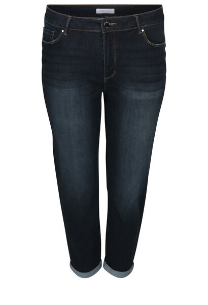 7/8-Slim Jeans - Denim